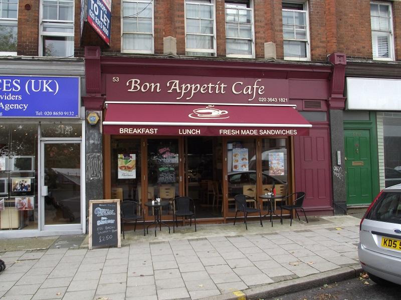 LEASE FOR SALE, Bon Appetite Café, Kent. Ref. 1664