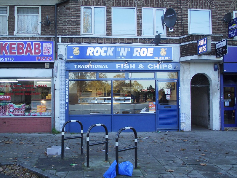 LEASE FOR SALE, Rock 'N' Roe Fish & Chips, South East London. Ref. 1666