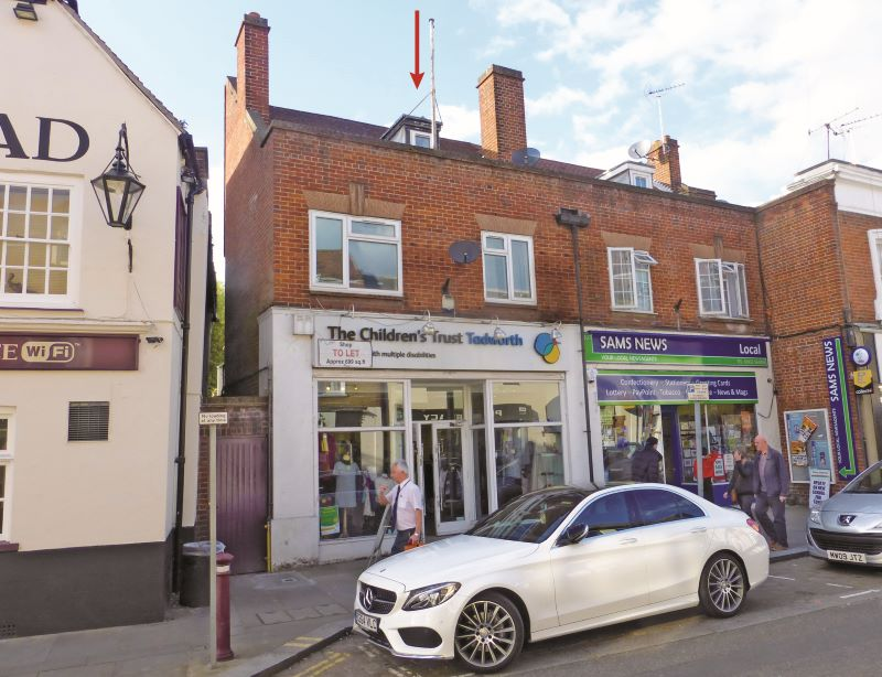 FREEHOLD INVESTMENT FOR SALE,  Chertsey, Surrey. REF. 1679