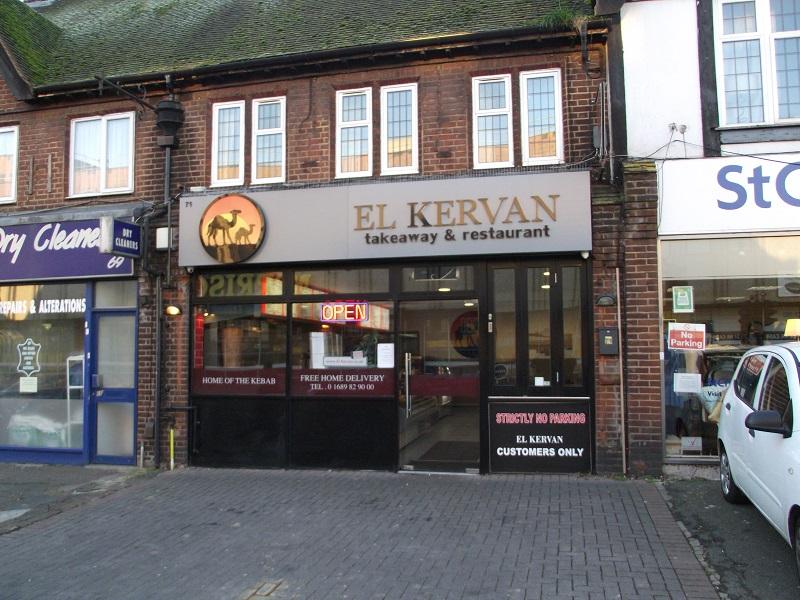 LEASE FOR SALE, El Kervan Kebab Restaurant & Take Away, Kent. Ref. 1680