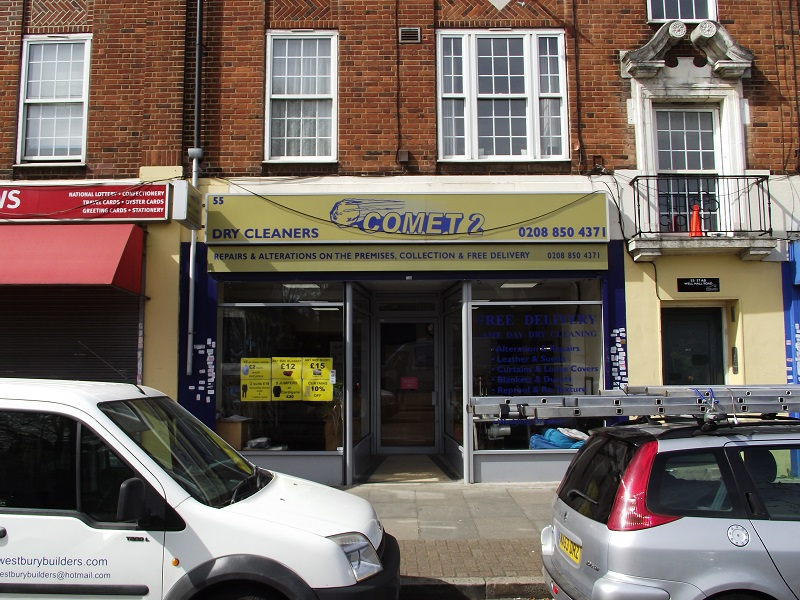LEASE FOR SALE, Comet 2 Dry Cleaners, South East London. Ref.1687