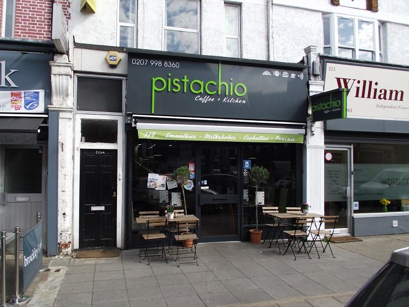 LEASE FOR SALE, Pistachio Cafe, South East London. Ref.1688