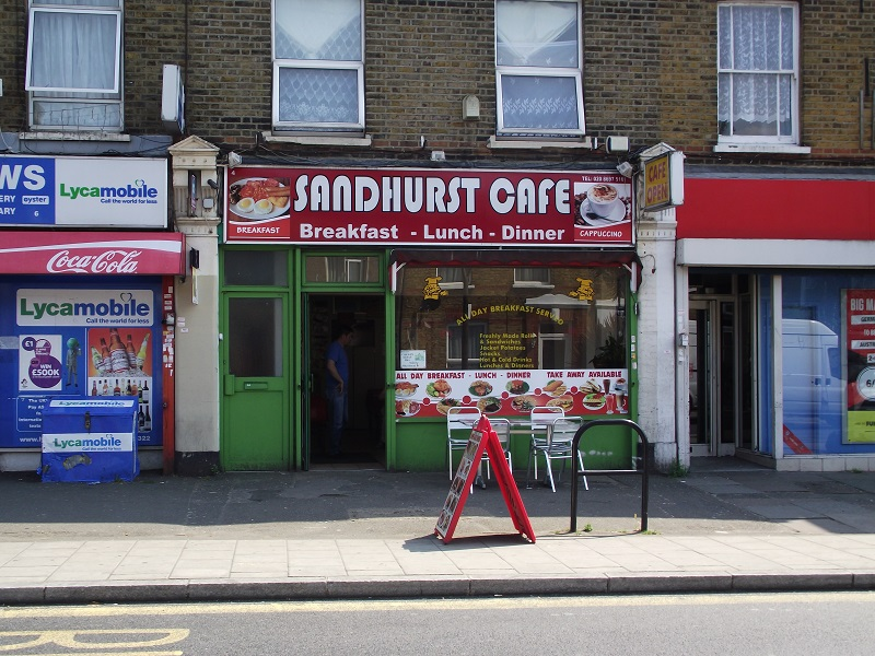 LEASE FOR SALE, Sandhurst Cafe, South East London. Ref.1690