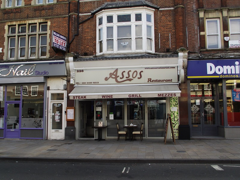 LEASE FOR SALE, Assos Restaurant, Kent. Ref. 1692