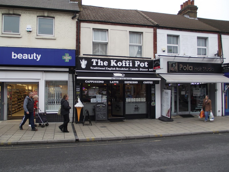 LEASE FOR SALE, The Koffi Pot, Welling, Kent. Ref.1694