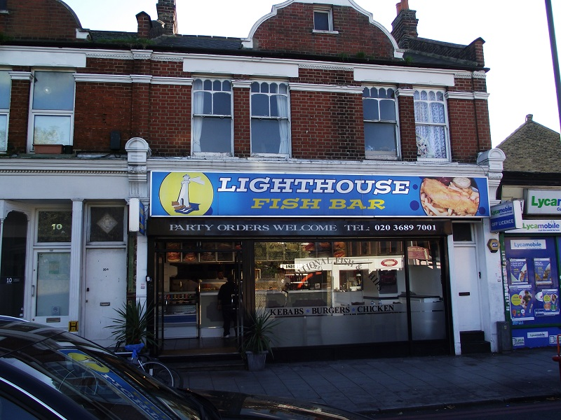 LEASE FOR SALE, Lighthouse Fish Bar, Tooting Bec. Ref.1695