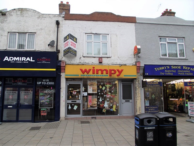 LEASE FOR SALE, Wimpy Restaurant, Welling. Ref. 1697
