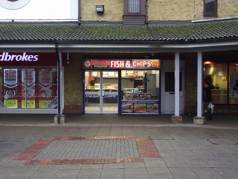 LEASE FOR SALE, Britannia Fish & Chips, Thamesmead. Ref. 1699