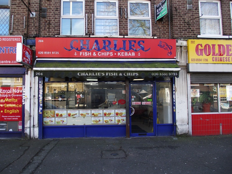 LEASE FOR SALE, Charlies Fish & Chips & Kebab, Barking. Ref. 1701