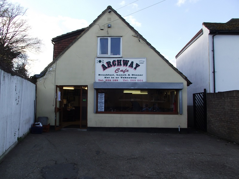 LEASE FOR SALE, Archway Cafe, Walton On Thames. Ref. 1702