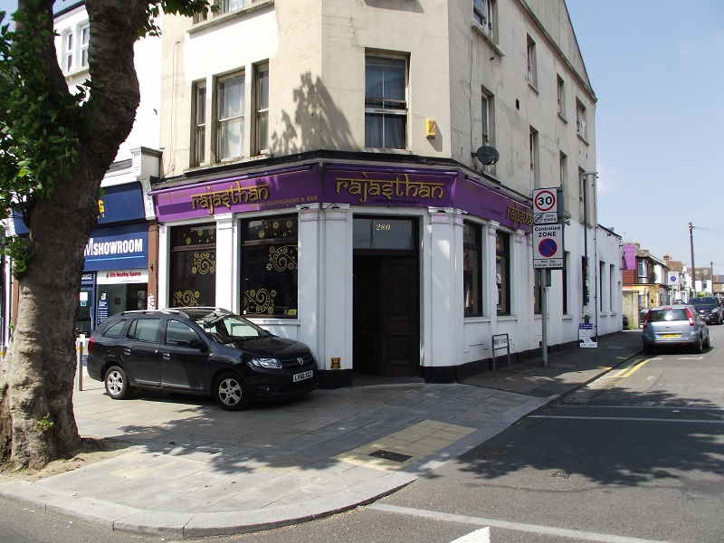 LEASE FOR SALE, Rajasthan Restaurant, Bexleyheath. Ref. 1707