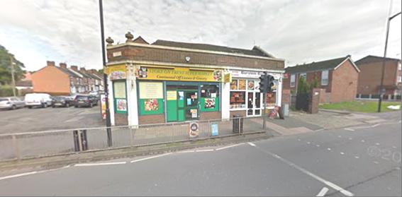 FREEHOLD INVESTMENT, 128 & 130 Newcastle Street, Burslem, Stoke-On-Trent, ST6 3QH. Ref. 1708