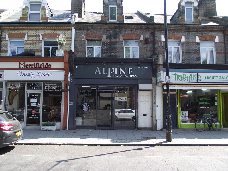 LEASE FOR SALE, Alpine Dry Cleaners, East Dulwich. Ref. 1710