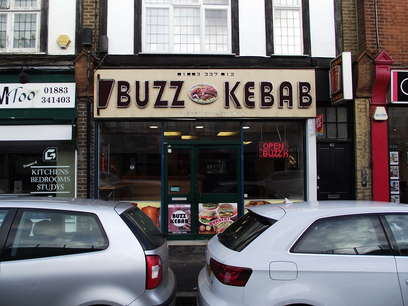 LEASE FOR SALE, Buzz Kebab, Caterham, Surrey. Ref:1720