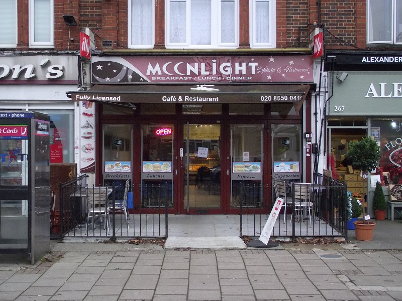 LEASE FOR SALE, Moonlight Café, Beckenham, Kent. Ref:1721