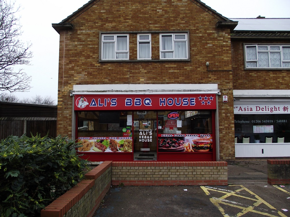LEASE FOR SALE, Ali's BBQ House, Colchester, Essex. Ref:1722