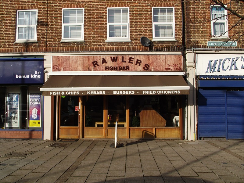 LEASE FOR SALE, Trawlers Fish Bar, Mottingham, London. Ref:1723