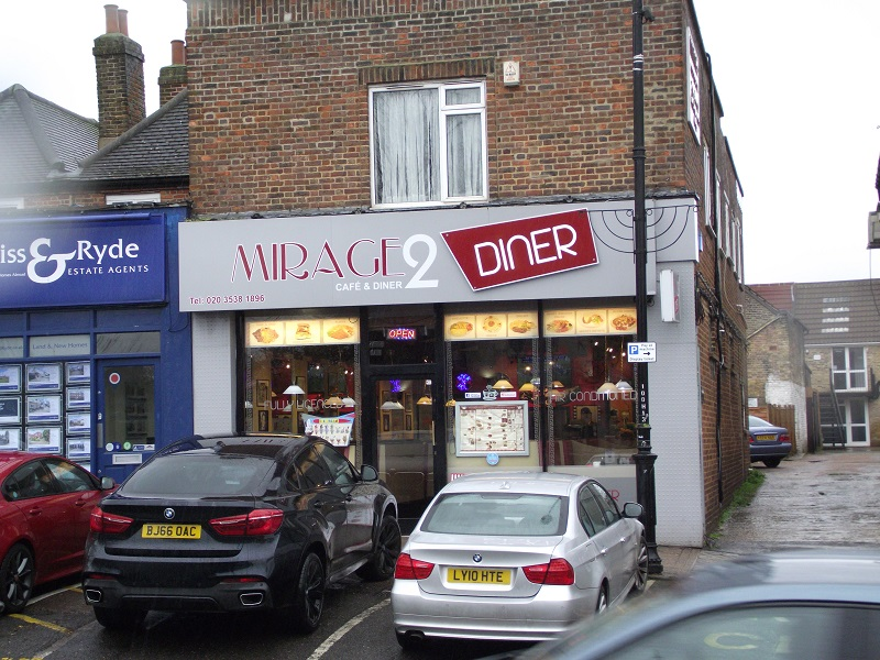 LEASE FOR SALE, Mirage 2 Café Diner, Chislehurst, Kent. Ref:1725