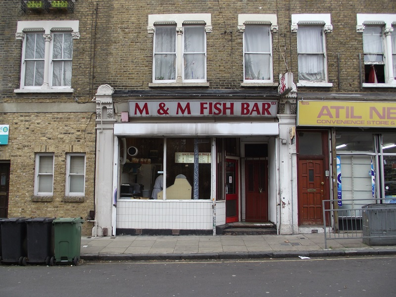 LEASE FOR SALE, M & M Fish Bar, South East London. Ref:1727