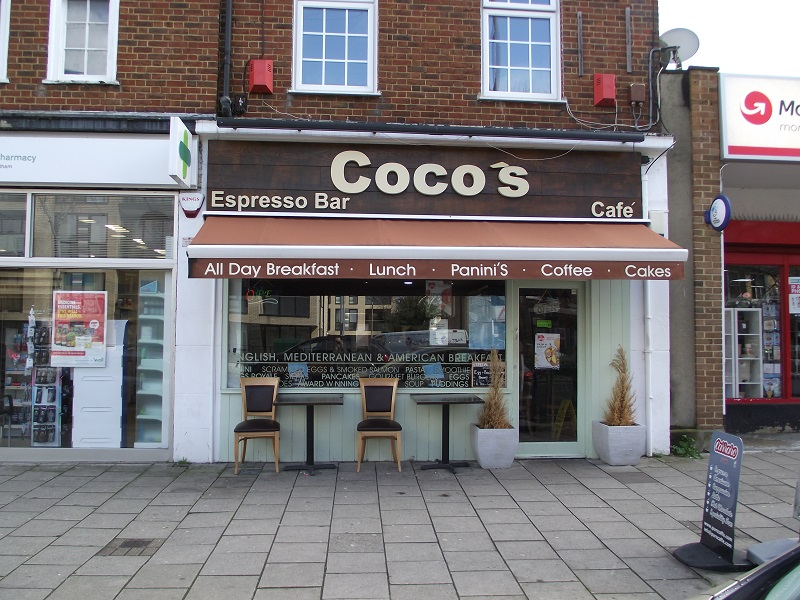 LEASE FOR SALE, Coco's Expresso Bar & Cafe, South East London. Ref:1728