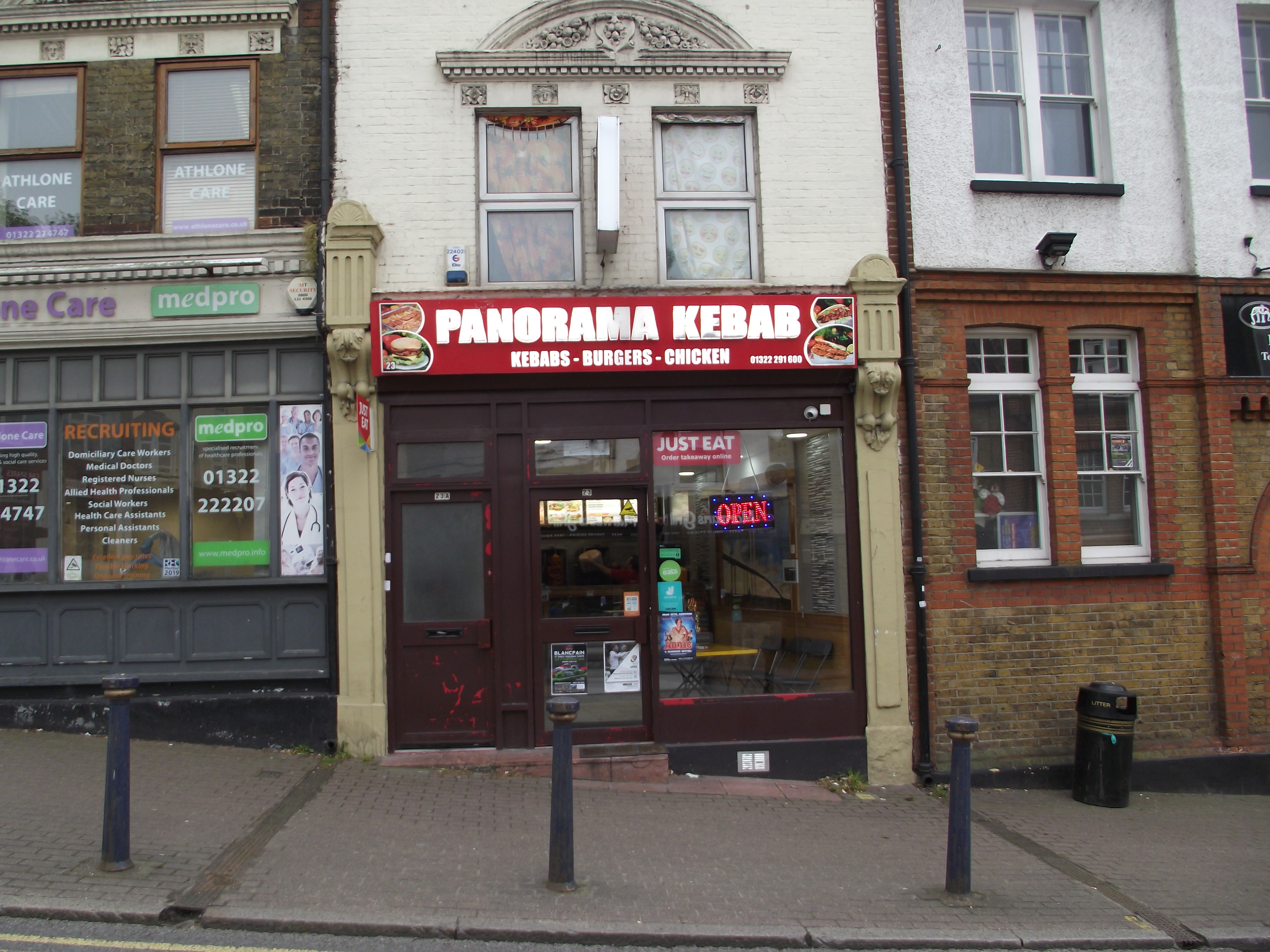 LEASE FOR SALE, Panorama Kebab, Dartford, Kent. Ref. 1730