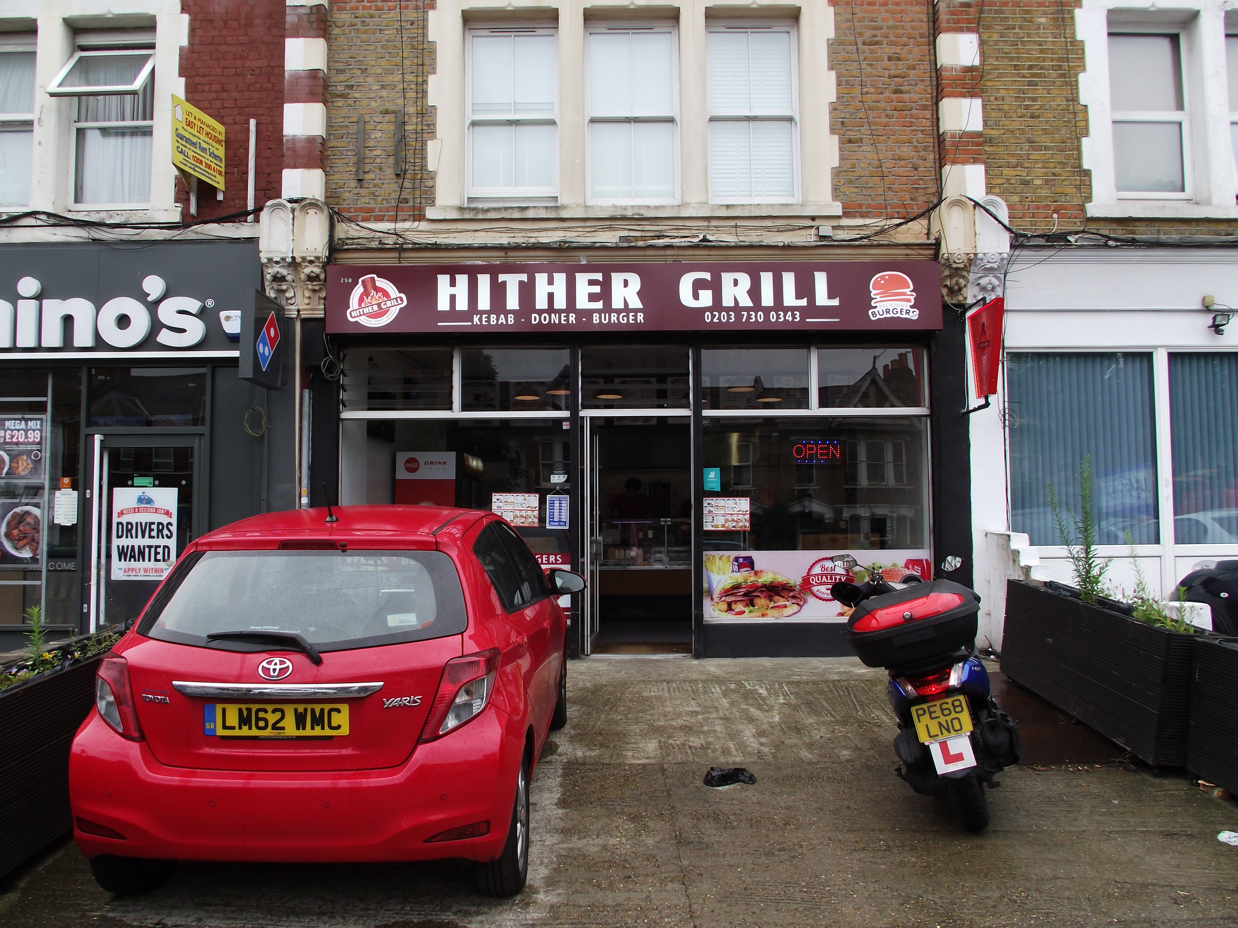 LEASE FOR SALE, Hither Grill, South East London. Ref. 1733