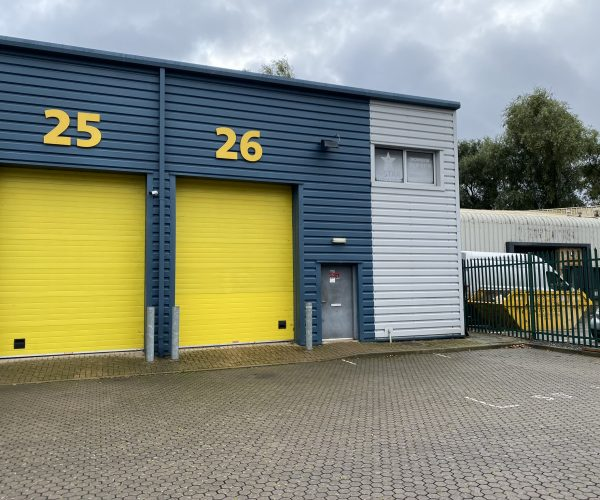LEASE FOR SALE, Vacant Industrial Unit, Erith, Kent. Ref. 1735