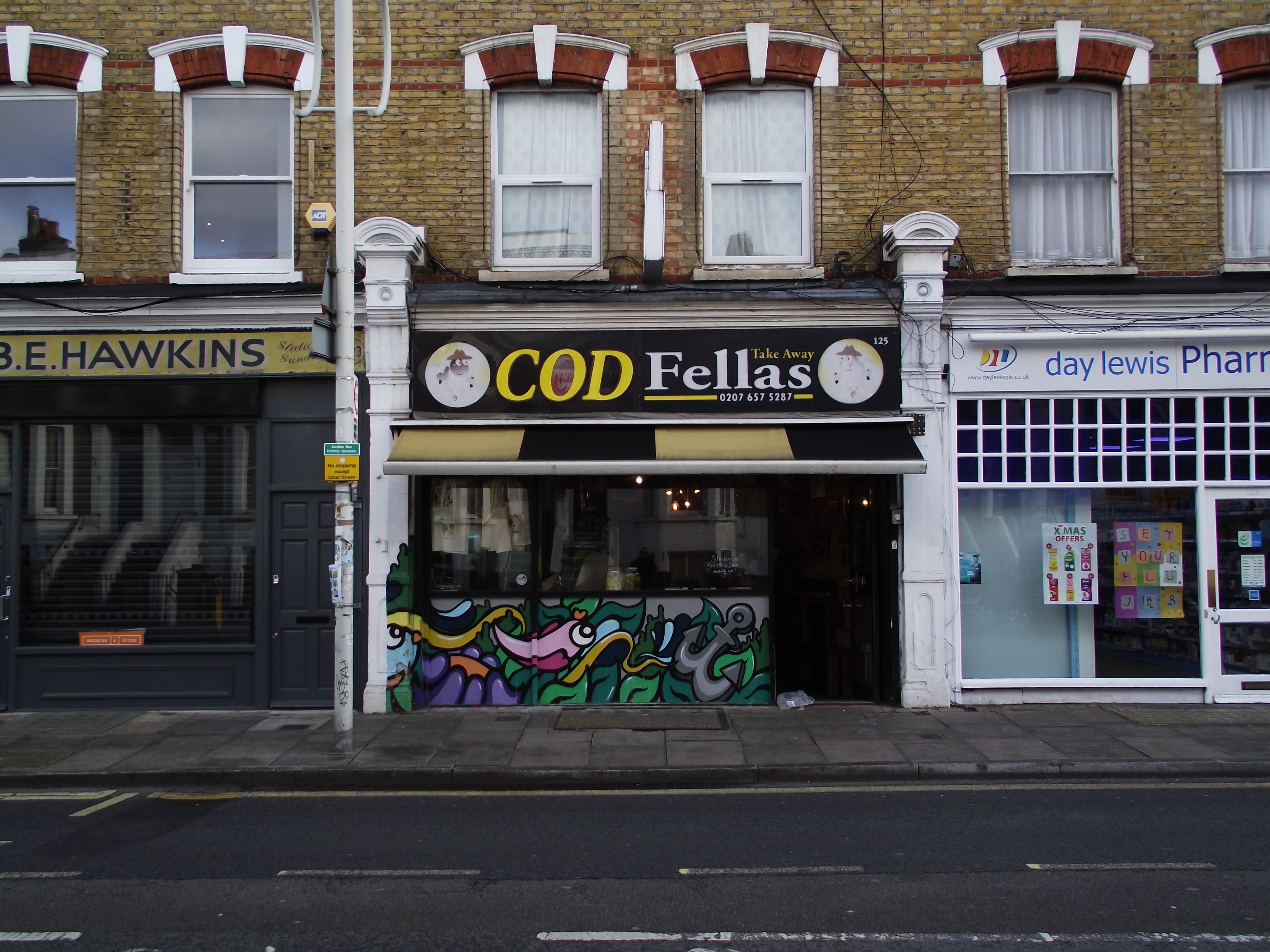 LEASE FOR SALE, Cod Fellas, Peckham, South East London. Ref. 1740