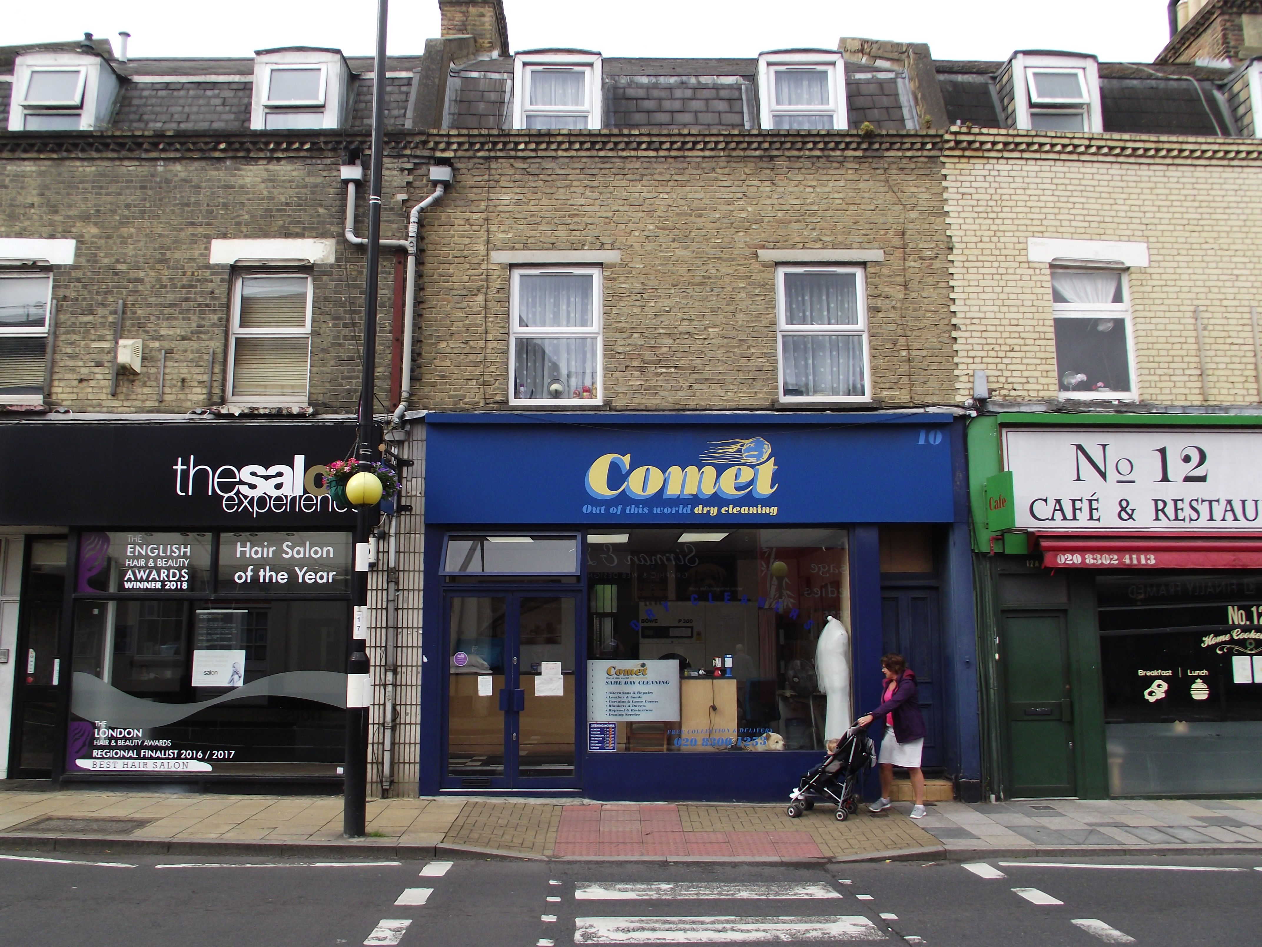 LEASE FOR SALE, Comet Dry Cleaners, Sidcup, Kent. Ref.1744